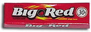 Wrigley's Big Red Cinnammon Gum 5 Sticks