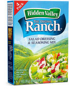 Hidden Valeey Ranch Dressing Mix 4x 28g