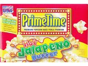Prime Time Hot Jalapeno Butter Popcorn 3x68g