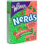 Wonka Nerds Wild Cherry & Watermelon 46,7g