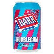 Barr Bubblegum Soda 330ml