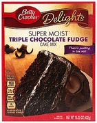 Betty Crocker Triple Chocolate Cake Mix 432g