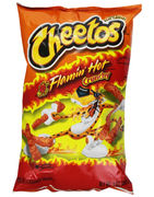 Cheetos Flaming Hot Crunchy BIG 226g