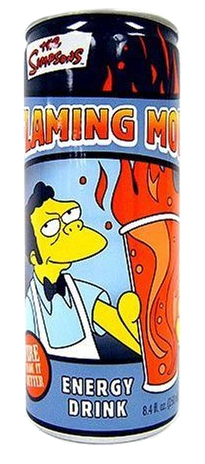 Flaming Moe Energy Drink 248ml