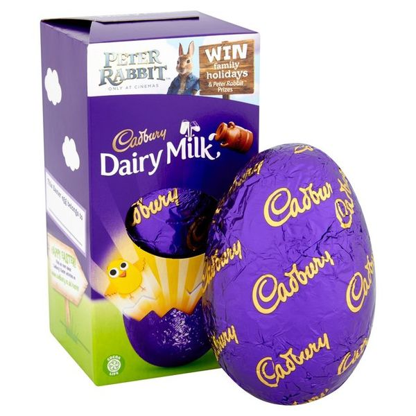 Cadbury Chocolate Egg 72g