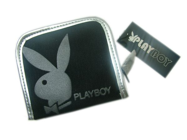 Certified Playboy Purse Black/Silver