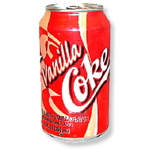 Coke Vanilla 330ml