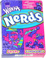 Wonka Nerds Strawberry&Grape 47g