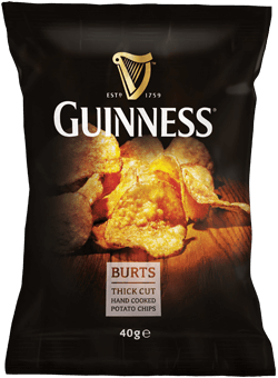 Burts Guinness Chips 40g