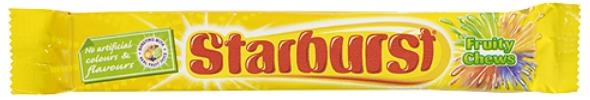 Starburst Fruity Chews 45g
